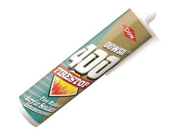 Firestop 400 Acrylic Sealant White 380ml